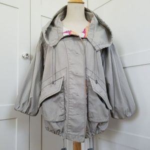 Free People Slouchy Parka style jacket (XS)
